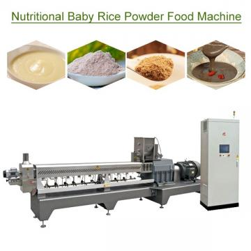 380v/50hz High Efficiency Nutritional Baby Rice Powder Food Machine With Grains Powder  As Raw Material,noiseless Running