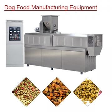 Automatic Eco-friendly Dog Food Manufacturing Equipment With Meat Powder As Raw Material