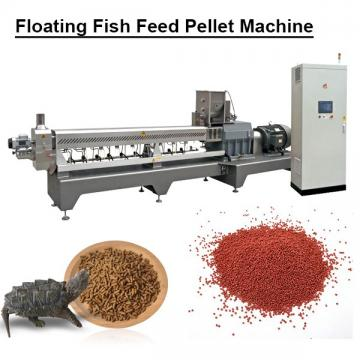 Multifunction Stainless Steel Food Grade Floating Fish Feed Pellet Machine With Fish Meal As Raw Material