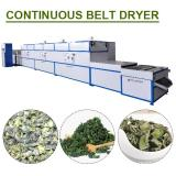 Efficient Good Performance Vacuum Band Dryer With Plc Control