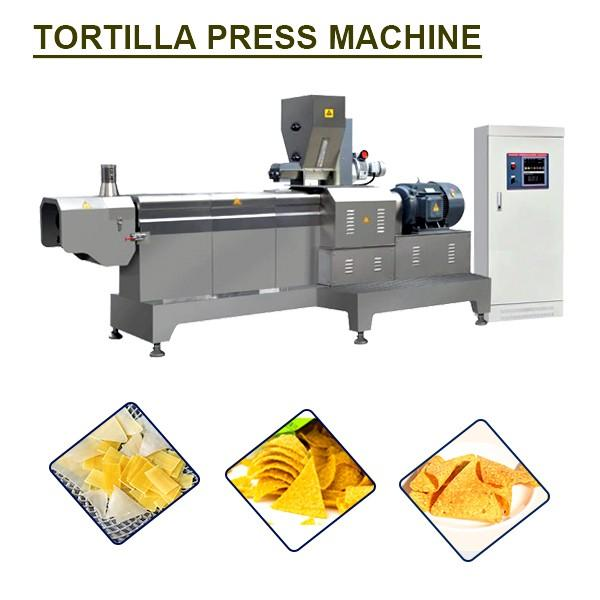 85kw Stainless Steel Food Grade Tortilla Press Machine With Energy Saving #1 image