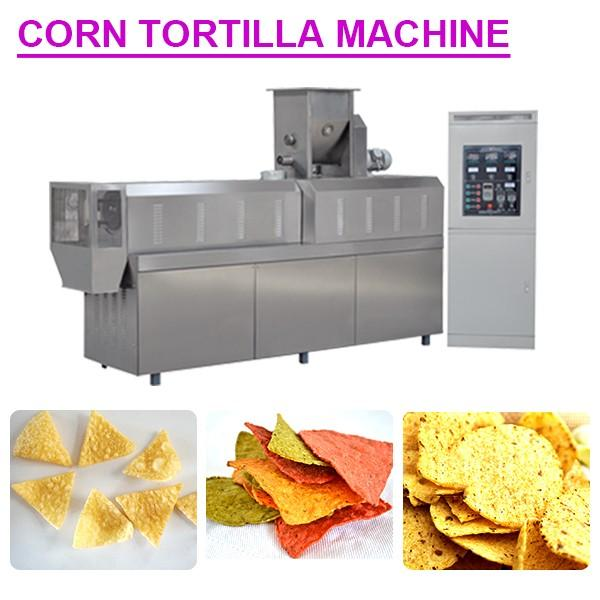 Automatic 304 Stainless Steel Material Tortilla Press Machine With Corn Flour As Raw Material #1 image