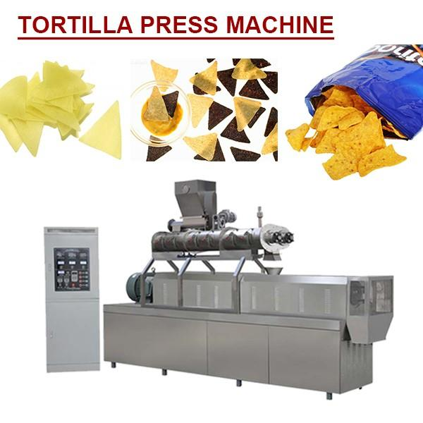 Full Automatic Smart Control Tortilla Press Machine With Flour As Raw Material,noiseless Running #1 image