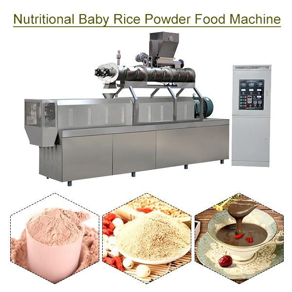 Automatic Eco-friendly Nutritional Baby Rice Powder Food Machine With Rice Flour As Raw Material #1 image