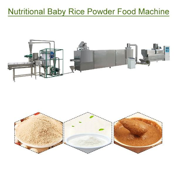 High Quality Eco-friendly Nutritional Baby Rice Powder Food Machine,Easy Installed #1 image