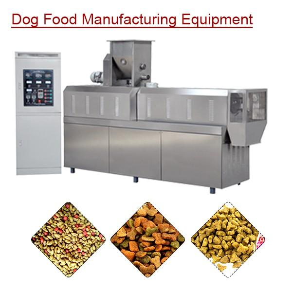 Automatic Eco-friendly Dog Food Manufacturing Equipment With Meat Powder As Raw Material #1 image