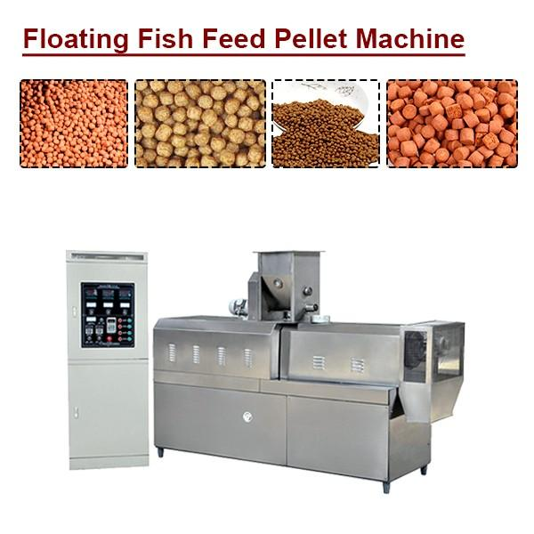 PLC System High Efficiency Floating Fish Feed Pellet Machine With Long Lifetime #1 image