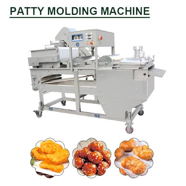 Electricity Diesel Steam Gas Fully Continuous Patty Molding Machine With Poultry As Raw Material #1 image