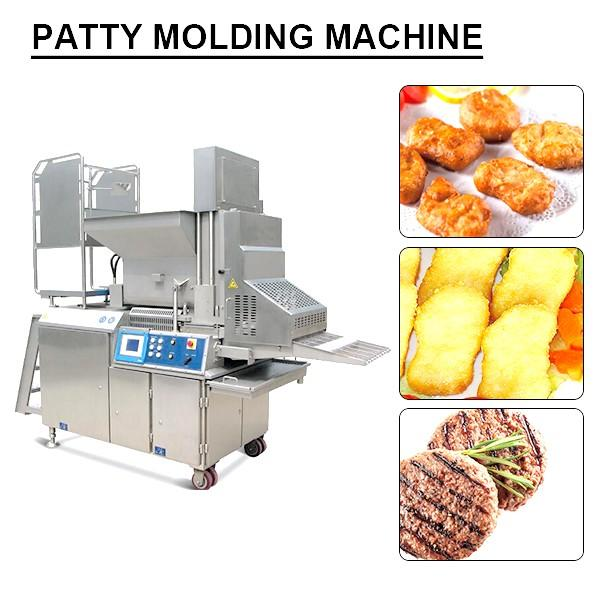 PLC System Easily Operated Patty Molding Machine With Cost Effective #1 image