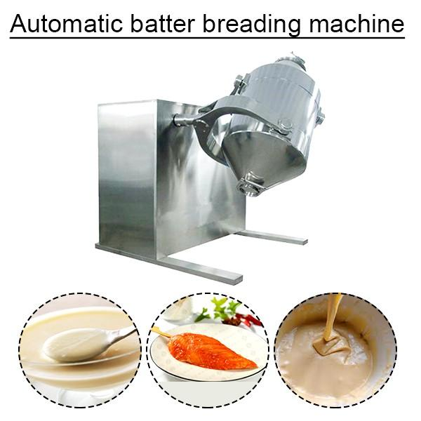 Ce Certification Stainless Steel Automatic Batter Breading Machine With Low Consumption #1 image