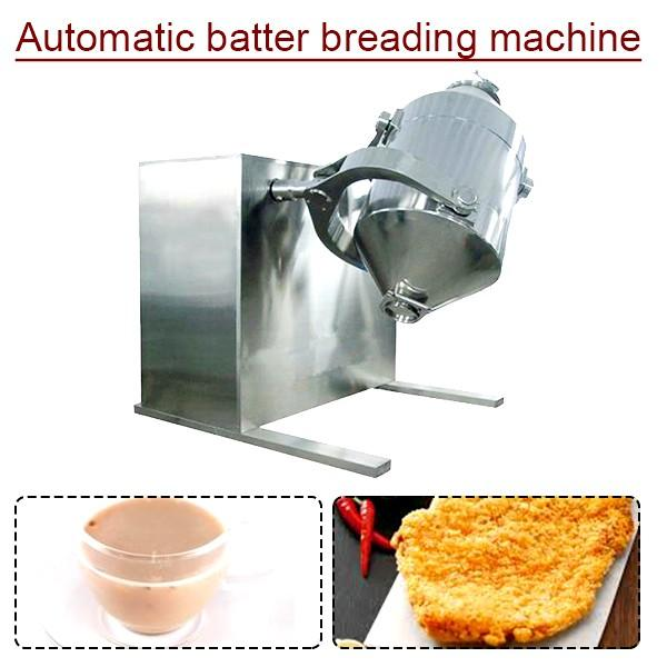 380v 50hz 3phase Fully Automatic Automatic Batter Breading Machine,Commercial Batter Mixer #1 image