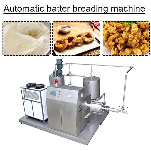 High Output 304 Stainless Steel Material Automatic Batter Breading Machine,No Pollution #1 image