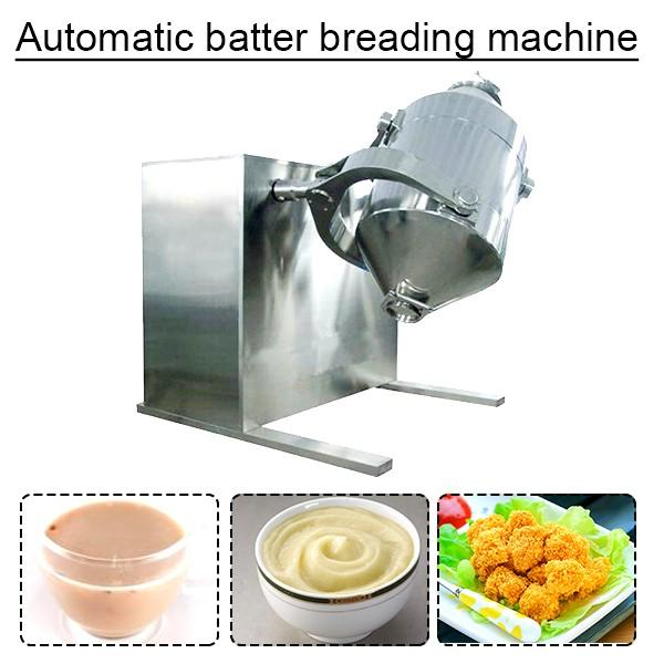 PLC System Stable Running Automatic Batter Breading Machine For Tempura Products #1 image