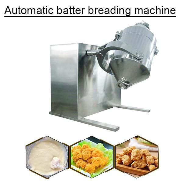 Electricity Diesel Steam Gas Automatic Batter Breading Machine With Low Noise,Self Cleaning #1 image
