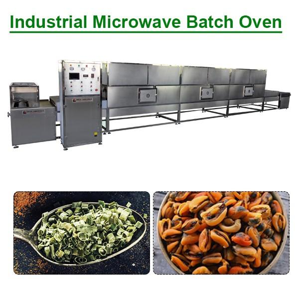 PLC System Fully Automatic Industrial Microwave Batch Oven,Commercial Microwave Oven #1 image