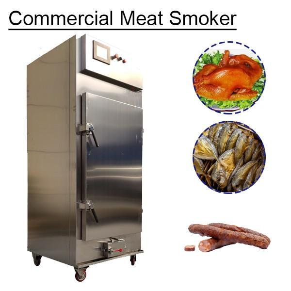 30-100Kg Fully Automatic Commercial Meat Smoker With Chicken As Raw Material #1 image