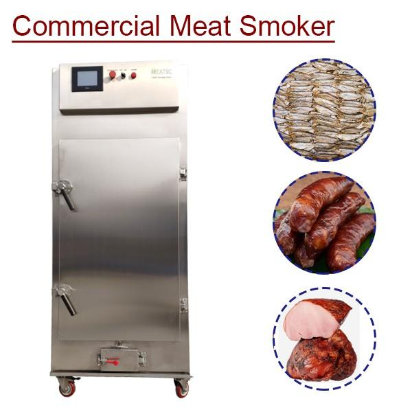 Continuously Operated Labor Saving Commercial Meat Smoker With Low Noise #1 image