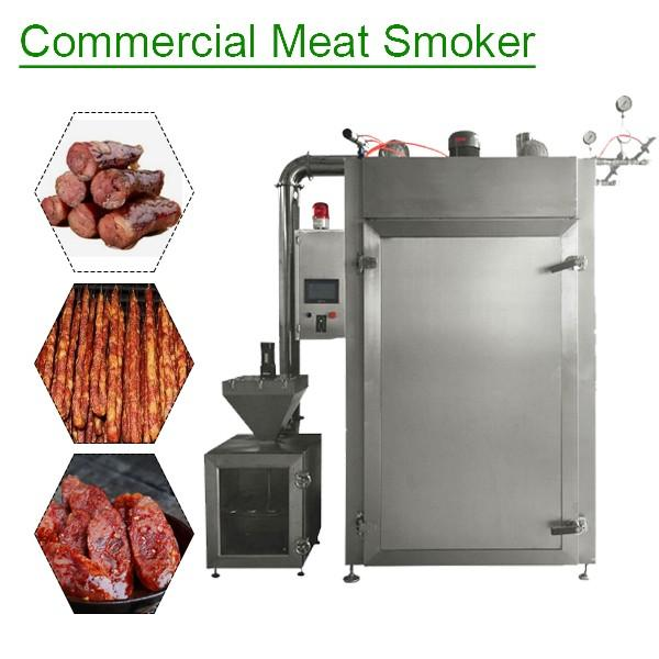 Non-polluting Fully Continuous Commercial Meat Smoker,Commercial Food Smoker #1 image