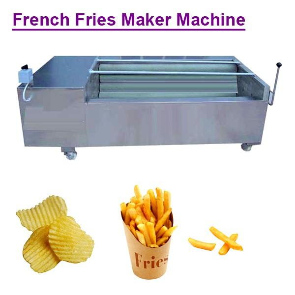 380v/50hz Stainless Steel Food Grade French Fries Maker Machine With Potato As Raw Material #1 image