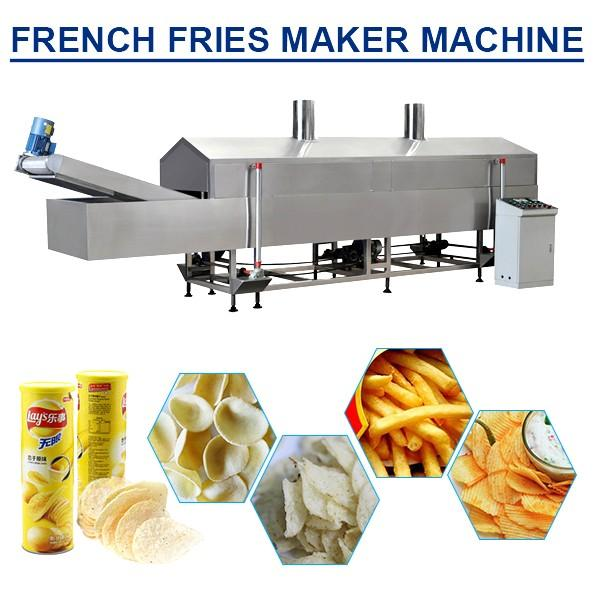 304 Stainless Steel Material Eco-friendly french fries maker machine,Low Cost High Output #1 image