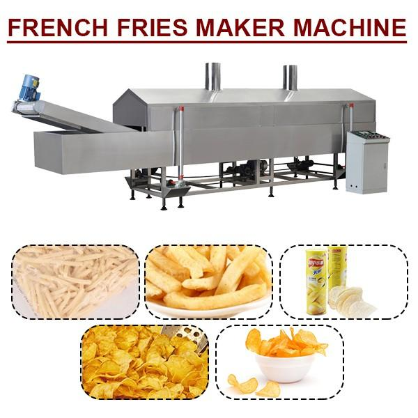 100-300kg/h Easy-operation French Fries Maker Machine ,French Fries Equipment #1 image